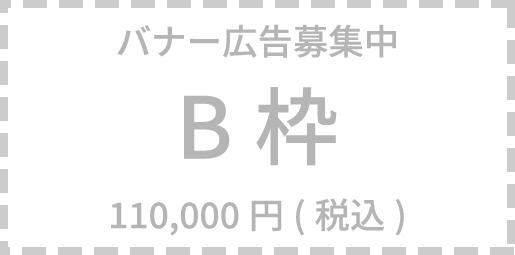 バナー広告募集中 B枠